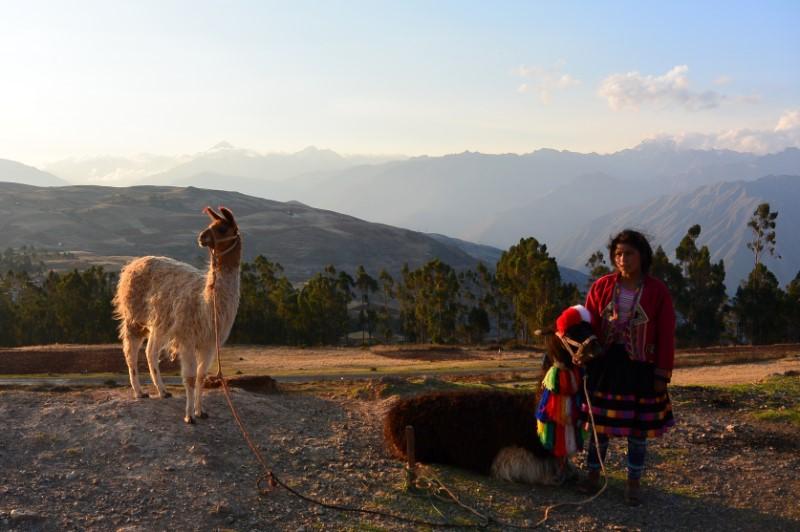 zonsondergang Peru